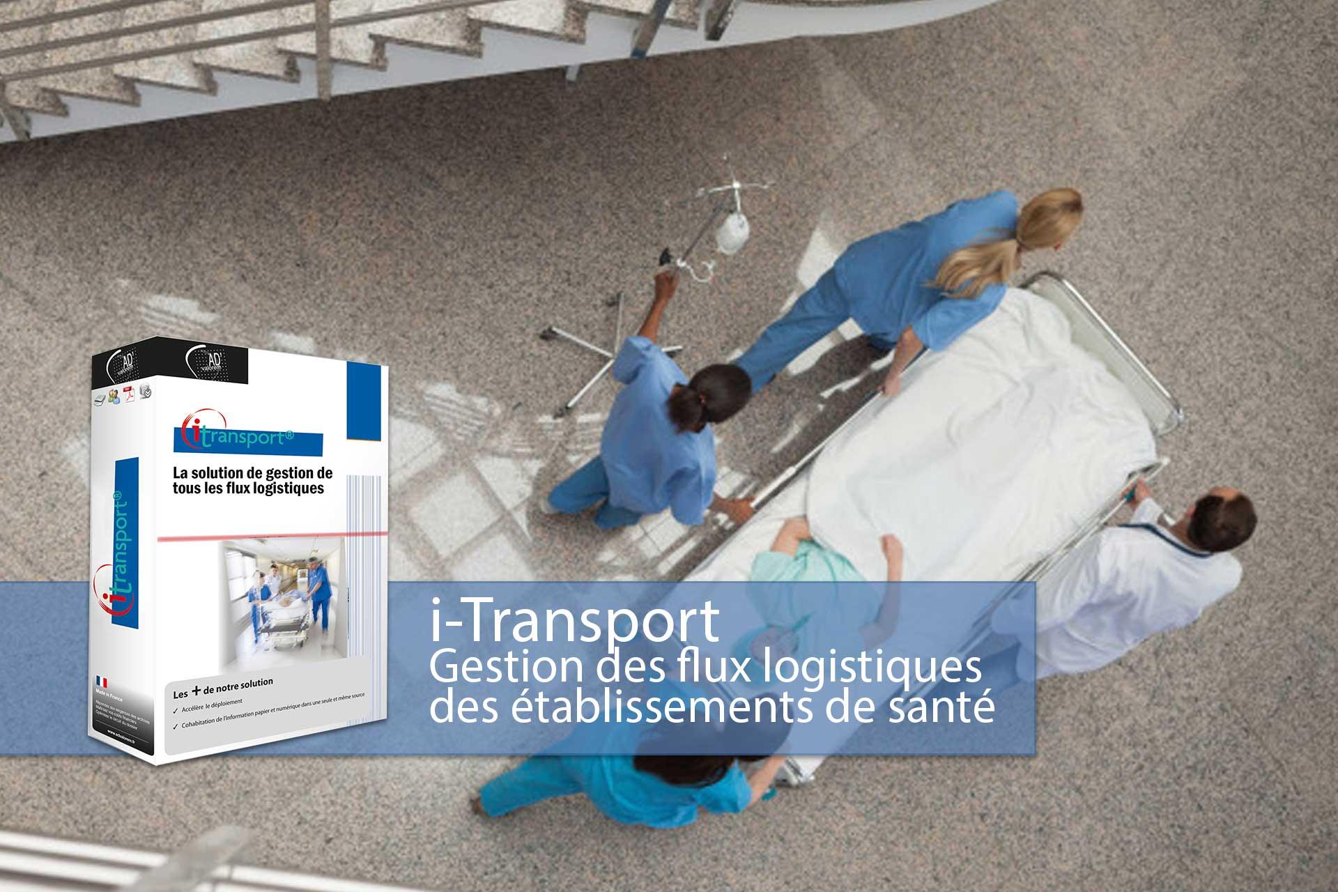 i-transport - logiciel brancardage