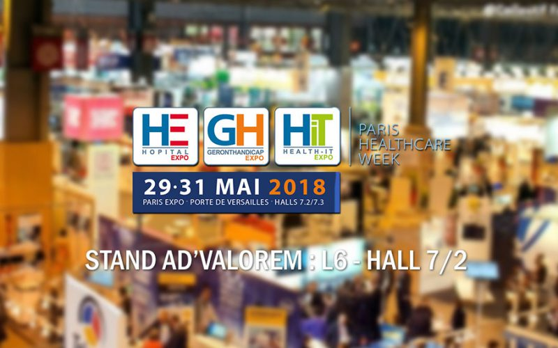 Salon HIT 2018 - Stand ADVALOREM